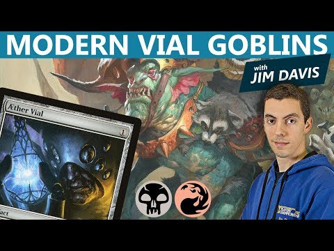 MTG: Modern Vial Goblins With Jim Davis
