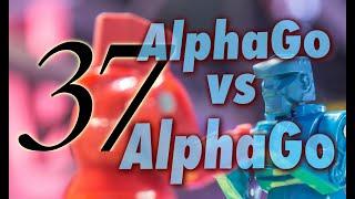 AlphaGo vs. AlphaGo with Michael Redmond 9p : Game 37