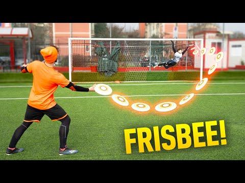 🥏🧤 Riesco a PARARE il FRISBEE? (Tiri assurdi !) - Sergej GK