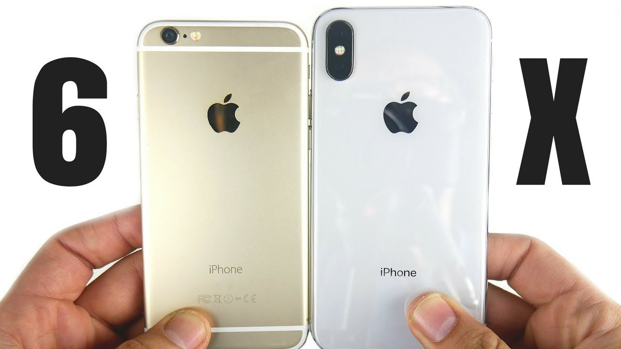 Iphone 6 Vs Iphone X Time To Upgrade Youtube