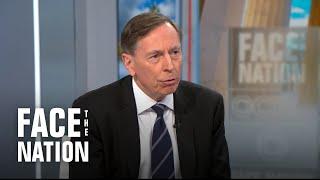 "Petraeus says U.S. had ""lost the element of deterrence"" before Soleimani strike"