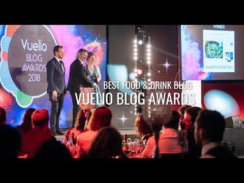 Best Food & Drink Blog Winner - Vuelio Blog Awards 2018