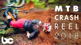 BEST MOUNTAIN BIKE CRASHES and BLOOPERS of 2018!