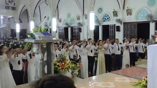 Dâng của Lễ Thánh Lễ cưới 21/7/2017 Thánh Đường Giáo xứ Vĩnh Hòa