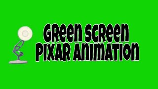 Green screen Pixar Animation