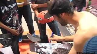 Ethernal Skate Films / Volcom Demo Sk8 Canada Tour 2011 @ Taz skatepark Montreal / Indoor park