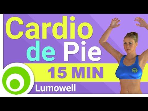 Rutina de Cardio de 15 Minutos. Ejercicios de Pie para Adelgazar