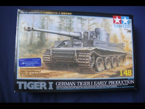 Tamiya 1:48 Tiger 1 (Early Production)