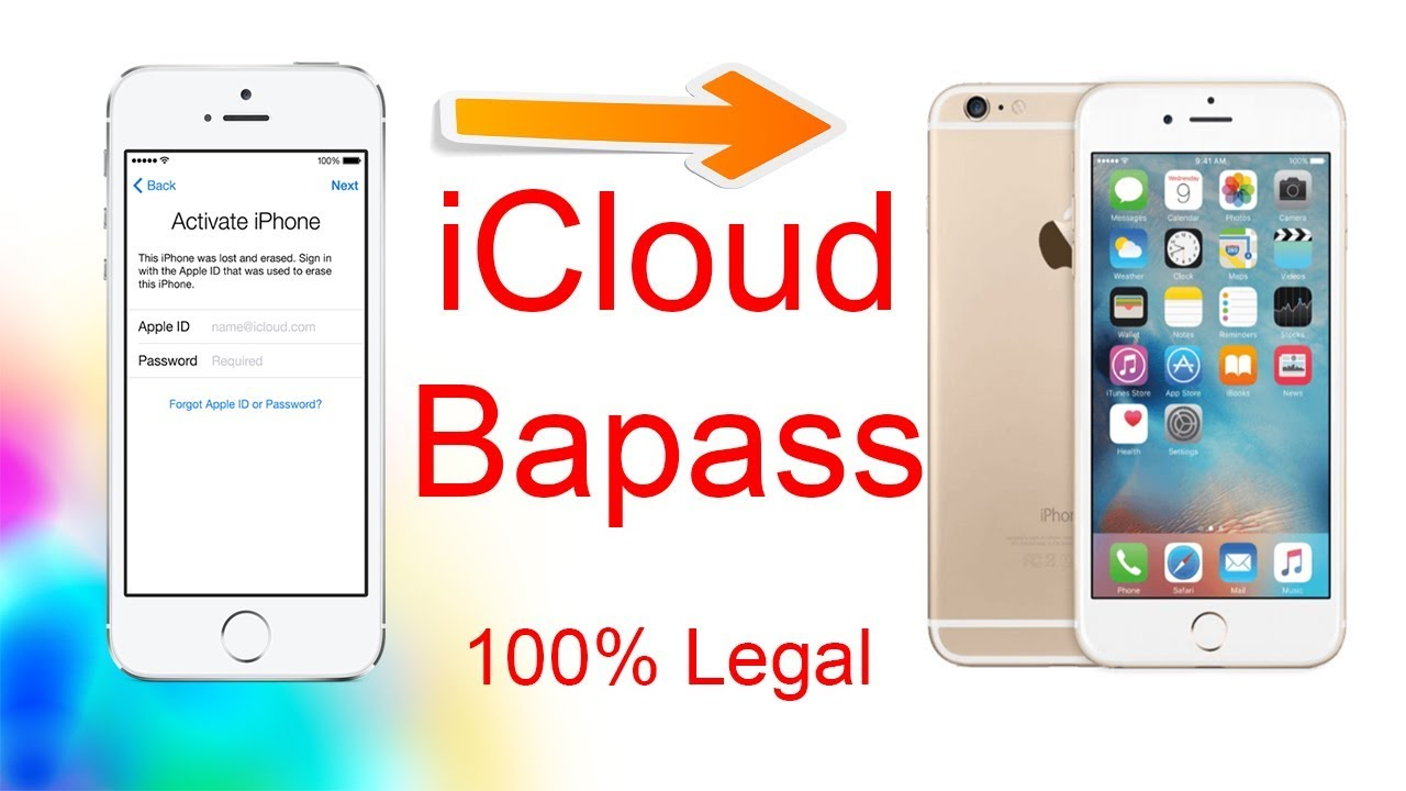 How To unlock icloud IPhone 6 , 6S , 6 Plus , activation ...