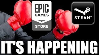 Devs Are leaving Steam For The Epic Games Store