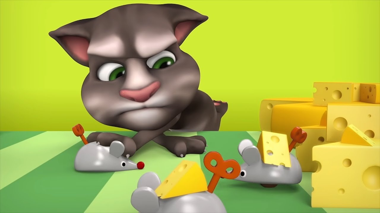 Talking Tom Shorts 2 - Whack-a-Mouse