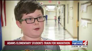 """I look forward to the marathon,"" Curriculum teaching students why we Run to Remember"