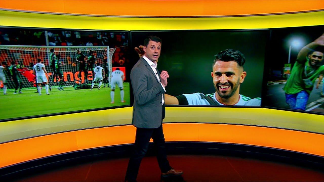 BBC عربية:رياض محرز يضع الجزائر في نهائي كأس إفريقيا: كيف تفاعلت الجماهير مع الحدث؟