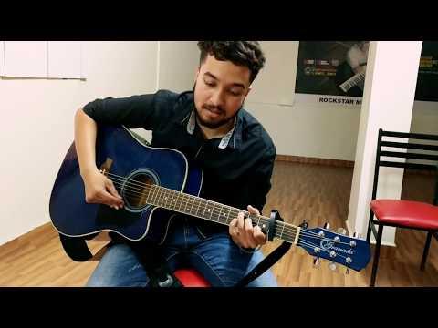 Tujhse naraj nahi jindagi song perform by student @rockstar music academy