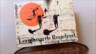 Custom Wood Beach & Surfing Signs By Dean Miller