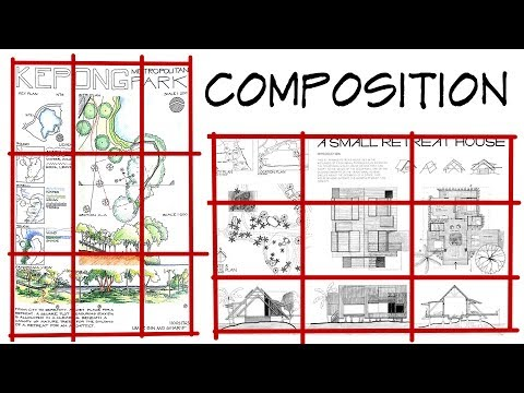 Composition - Architecture Daily Sketches