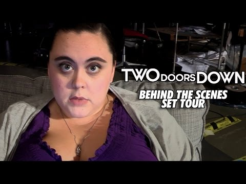 Two Doors Down   set tour with Sharon Rooney