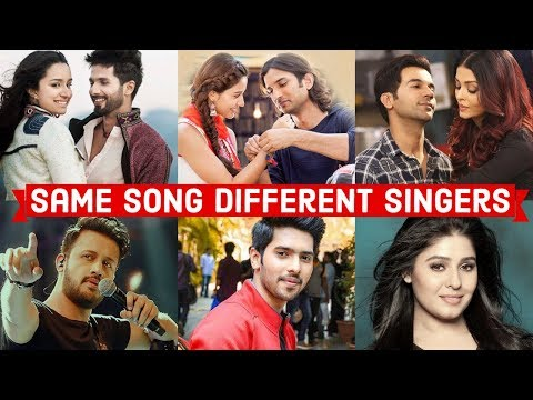 Same Song Different Singers - Who Sang It Better (Bollywood Songs)
