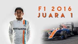 AKHIRNYA RIO HARYANTO JUARA 1 !! | F1 2016 Indonesia