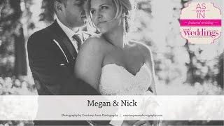 Lake Tahoe Wedding: Megan & Nick from Summer/Fall '17 of Real Weddings Magazine