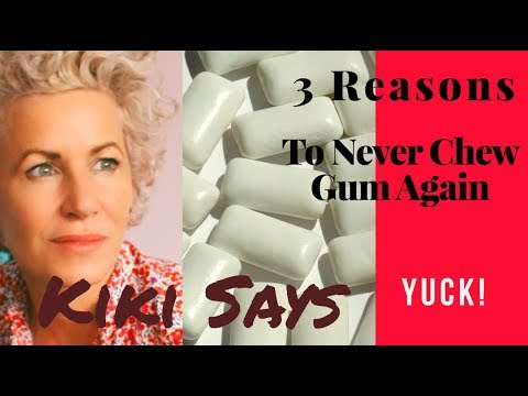 The Dangers of #Gum – #indigestion #aging #dental