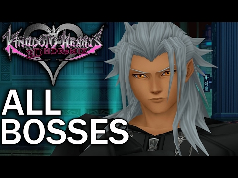 Kingdom Hearts Dream Drop Distance: All Bosses and Secret Ending (1080p 60fps)