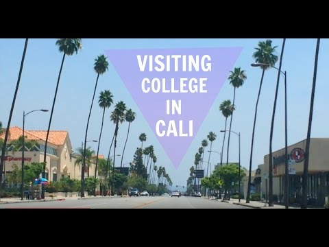 VISITING COLLEGE IN CALI