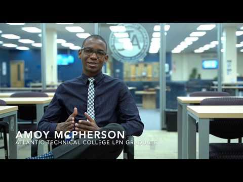 Amoy McPherson - Atlantic Technical College LPN Graduate