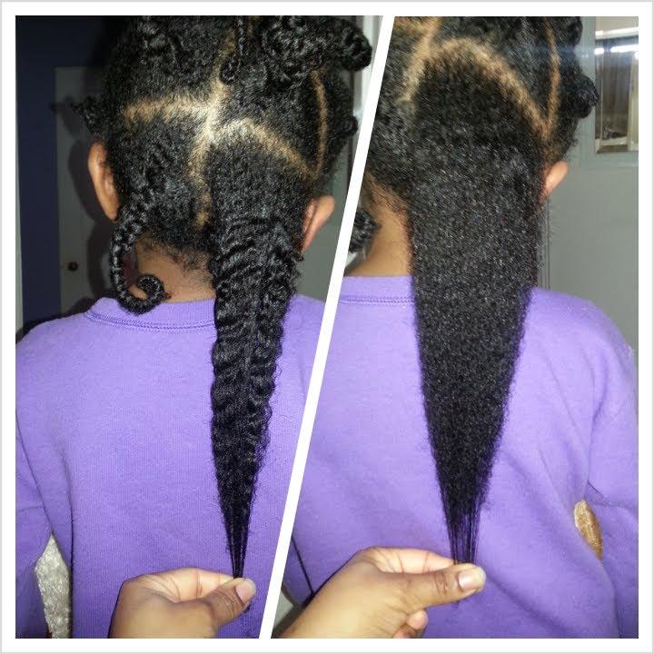 My toddler daughter natural hair care regimen - YouTube