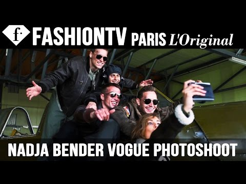 Nadja Bender for Vogue Russia - Photo Shoot with Alexi Lubomirski (OCTOBER ISSUE) | FashionTV