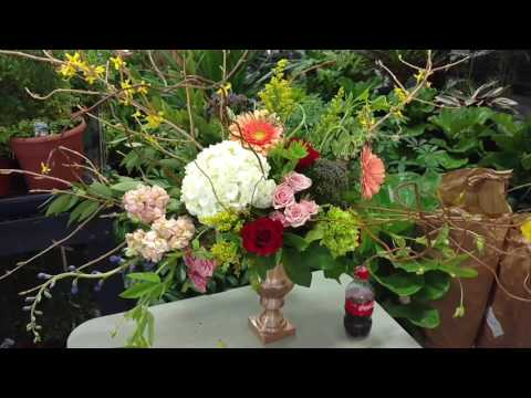 Master's class with Michael Gaffney floral design