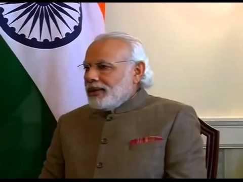 PM Modi meets John Key, New Zealand PM in Washington D.C