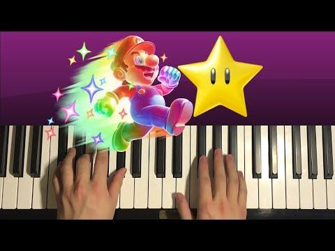 HOW TO PLAY - Mario - Invincibility Music (Piano Tutorial Lesson)