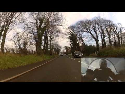 Isle of Man. Last Day. TT Course Last Lap