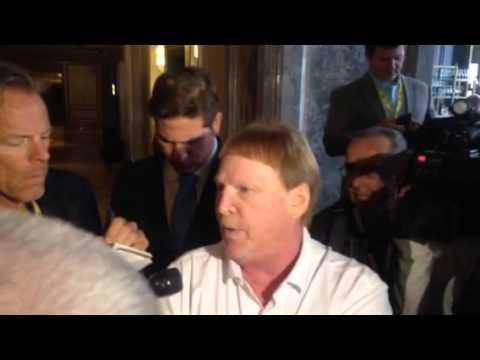 Mark Davis Oakland Raiders Owner Talks LA / Oakland Stadium Issue