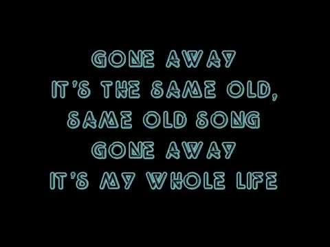 Cold - Gone away lyrics