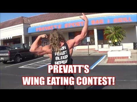 Prevatt's Wing Eating Contest! Hot wings over 9,000,000 scoville units!