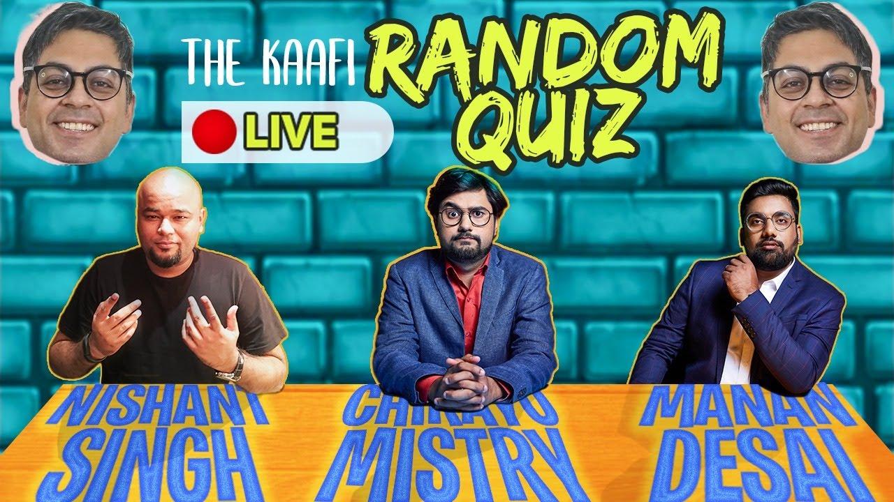 TKR Quiz 13 | KAAFI GUJJU Ft. @Nishant Tanwar @Manan Desai @Chirayu Mistry @The Comedy Factory