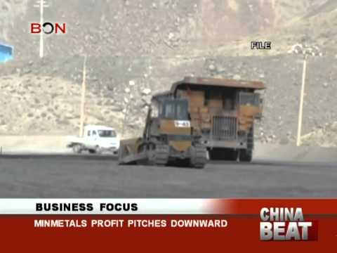 Minmetals profit pitches downward-China Beat-April 23 ,2014-BONTV China