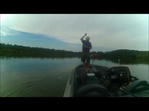 Largemouth bass fishing stockton lake july 2nd 2017 5 for Stockton fishing report