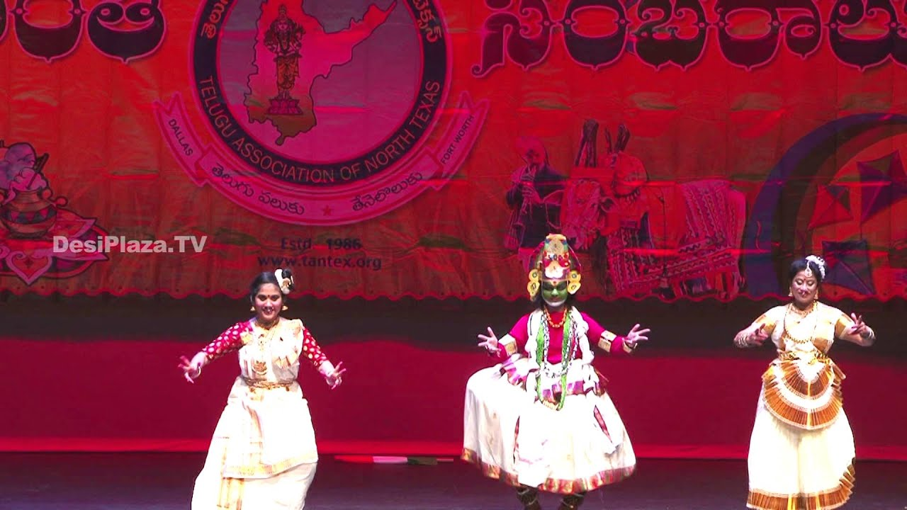 Kathak, classical dance at TANTEX Sankarnti Celebrations - 2016