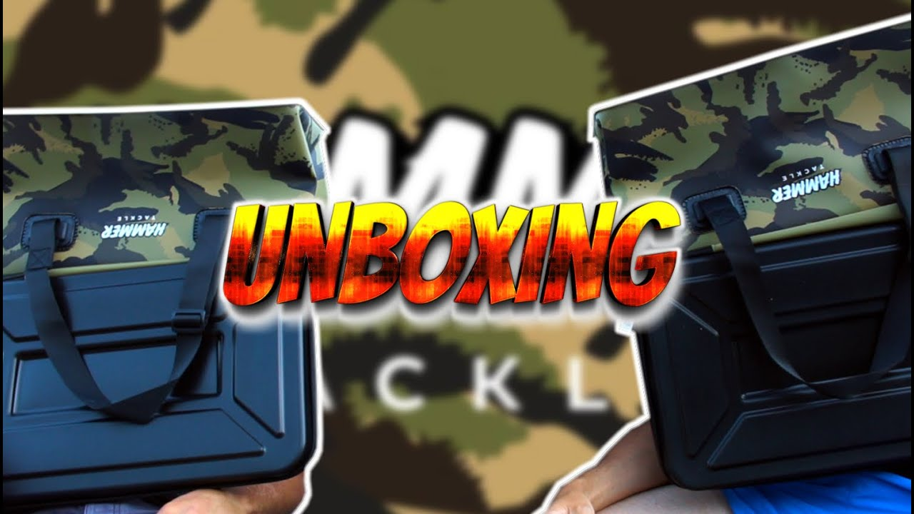HAMMER TACKLE | UNBOXING + JEU CONCOURS