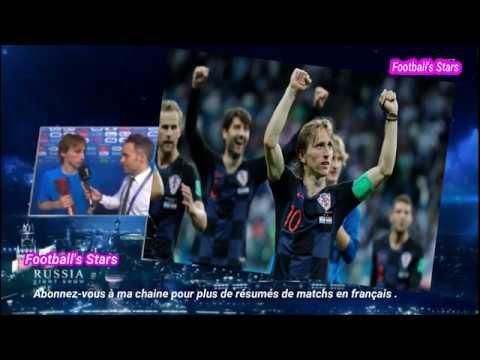 Réactions de Kane et de Modric Suède vs Angleterre 0-2 et Russie vs Croatie 2-2