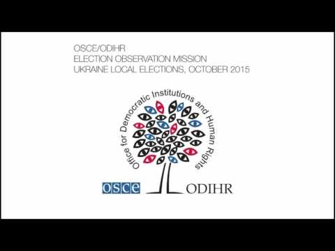 Ukraine, Local Elections, 25 October 2015: Election Observation Mission Press Conference