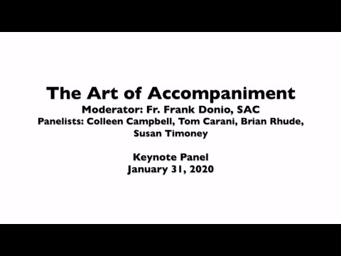 The Art of Accompaniment Keynote Panel Discussion from the Mid-Atlantic Congress 2020