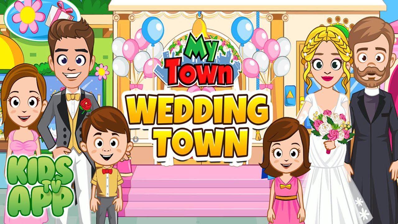 My Town : Wedding (My Town Games LTD) - Best App For Kids - YouTube