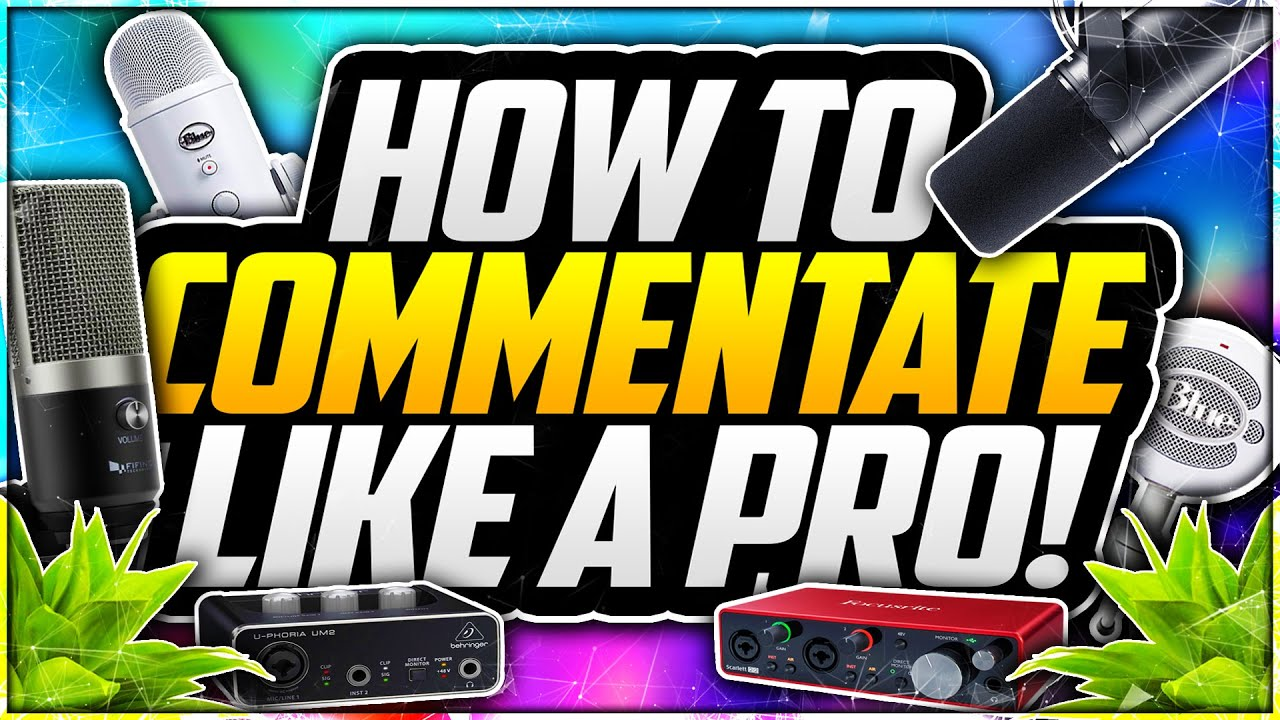 Download How To Commentate Like A PROFESSIONAL on YouTube 2020! 🎙 EASY Commentating Tips!