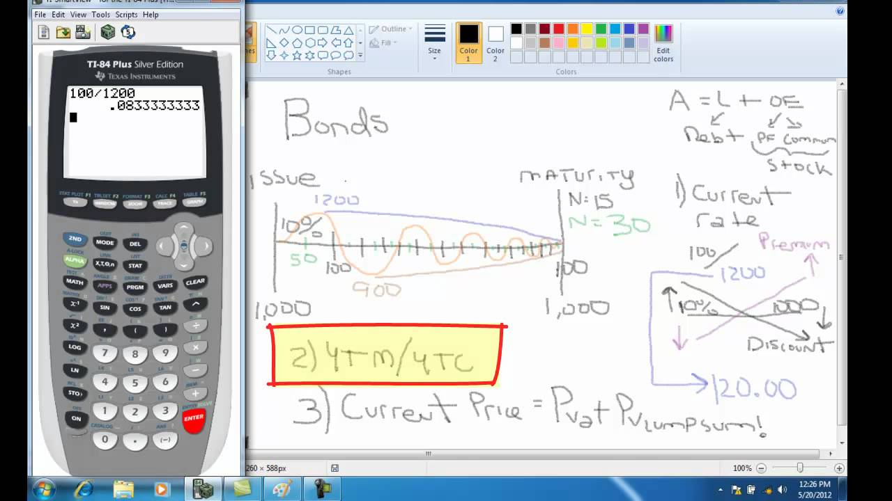 Using the TI-83 Calculator Financial Functions