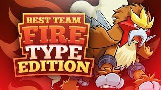 Best Team Fire Type Edition