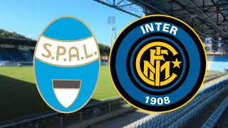 Spal Inter ITALY Serie A 33 Round 16 07 2020 Sport Betting Tips Banko Kupon СПАЛ Интер